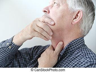 λαιμόs , άντραs , ανυπάκοος , λαιμόs , ή