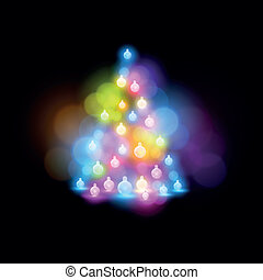λαμπερός , χριστουγεννιάτικο δέντρο