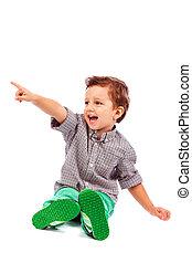 λατρευτός , μικρό αγόρι , άγκιστρο στερέωσης ρούχων εις , κάτι