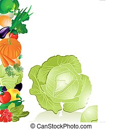 λαχανικά , λάχανο