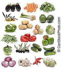λαχανικά , collection.