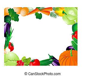 λαχανικό , κορνίζα