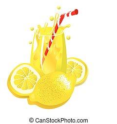 λεμονάδα , (vector)