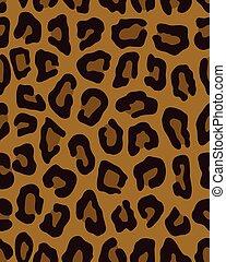λεοπάρδαλη , πρότυπο , καφέ