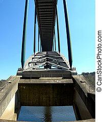 λεπτομέρεια , από , ο , γέφυρα