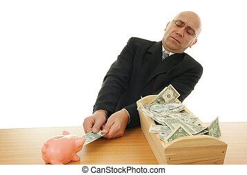 λεφτά ανήρ