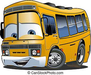 λεωφορείο , ιζβογις , γελοιογραφία