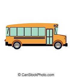 λεωφορείο , ιζβογις , περίγραμμα , γραφικός