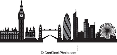 λονδίνο , γραμμή ορίζοντα