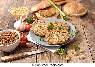 λουκάνικο , χορτοφάγοs