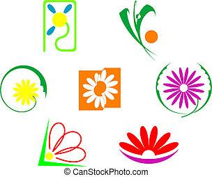 λουλούδια , θέτω , απεικόνιση