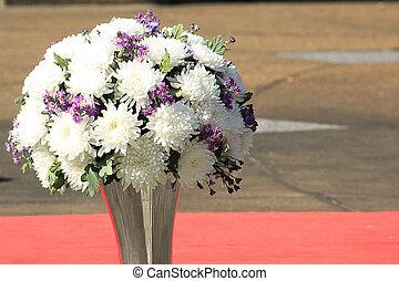 λουλούδια , μέσα , διακόσμηση , φόντο
