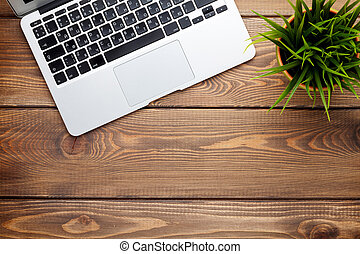 λουλούδι , γραφείο , laptop ηλεκτρονικός εγκέφαλος , γραφείο...
