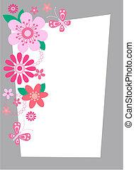 λουλούδι , κάρτα