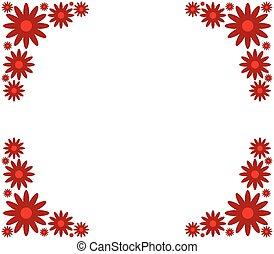 λουλούδι , κορνίζα