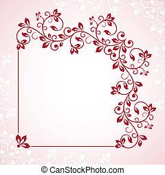 λουλούδι , frame.