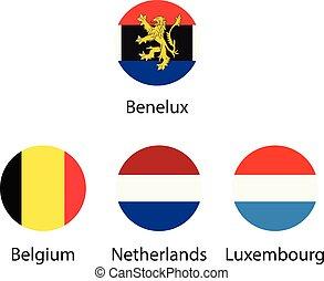 λουξεμβούργου , σημαίες , μικροβιοφορέας