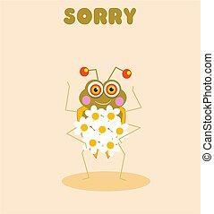 λυπάμαι , έντομο