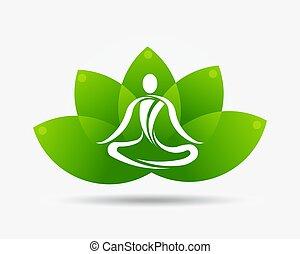 λωτός , ο ενσαρκώμενος λόγος του θεού , λουλούδι , γιόγκα , εικόνα