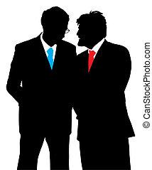 λόγια , δυο , businessmen