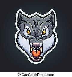 λύκος , γουρλίτικο ζώο