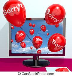 λύπη , απολογία , ηλεκτρονικός υπολογιστής , τύψη ...