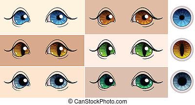 μάτια , μικροβιοφορέας , θέτω