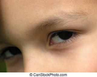 μάτι , παιδί