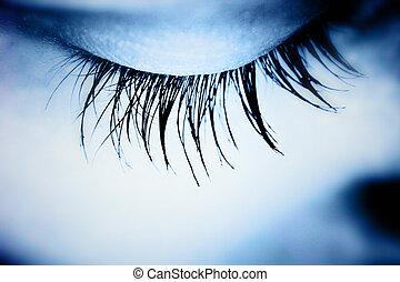 μάτι , σπουδαίος , - , macro