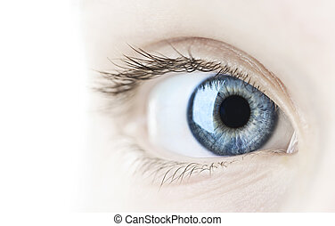 μάτι , closeup