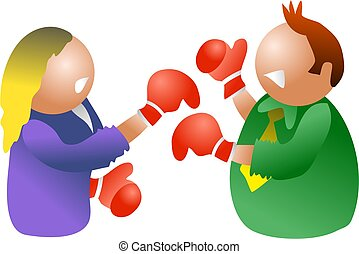μάχη , άνδρες ή γυναίκες συλλογικά