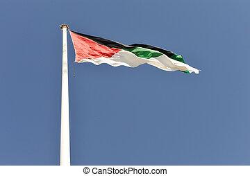 μέγιστος , σημαία , ιορδανία , aqaba