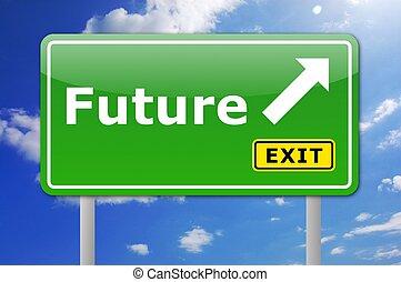 μέλλον , σήμα