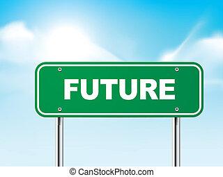 μέλλον , 3d , δρόμος αναχωρώ