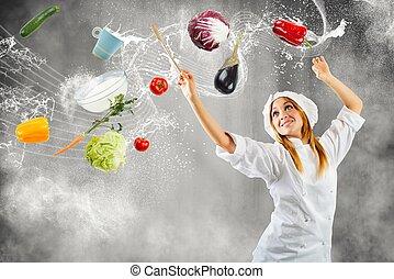 μέλος , μαγείρεμα