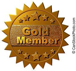 μέλος , χρυσός