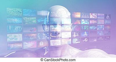 μέσα ενημέρωσης , τεχνολογία