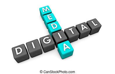 μέσα ενημέρωσης , ψηφιακός