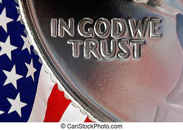μέσα , θεός , εμείς , εμπιστεύομαι