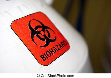 μέσα , vitro , εργαστήριο εξαρτήματα , - , biohazard