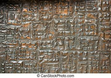 μέταλλο , επιφάνεια , επειδή , φόντο , πλοκή , πρότυπο