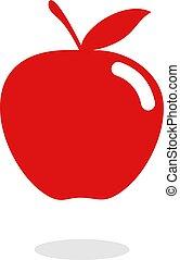 μήλο , κόκκινο , εικόνα