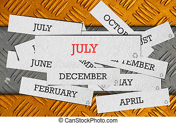 μήνας