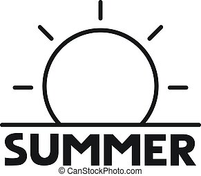 μήνυμα , καλοκαίρι , εικόνα