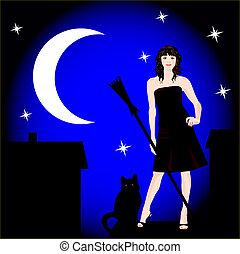 μαγεία , νύκτα
