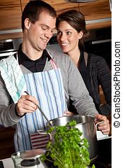 μαγείρεμα , μαζί