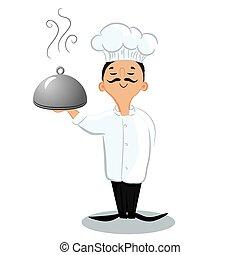 μαγειρεύω , αρχιμάγειρας