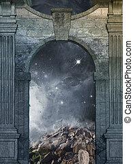 μαγικός , πόρτα