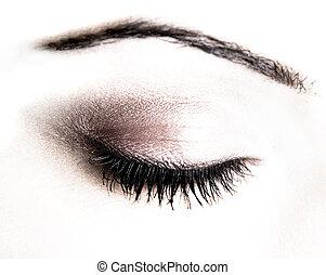 μακιγιάζ , μάτι