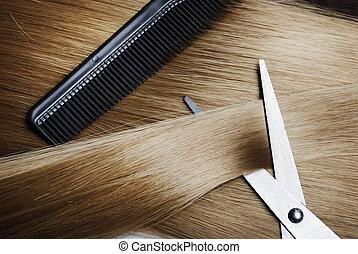 μαλλιά , ξανθή